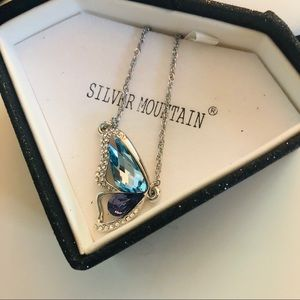 Silver Mountain necklace